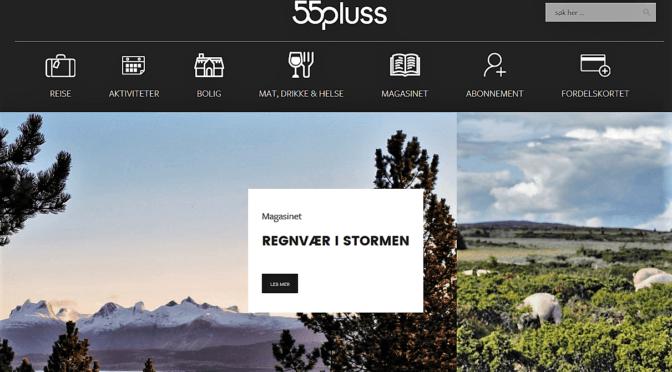 Nyhet – Seniorportalen og Hjemmetjenester flyttes til ny hjemmeside 55pluss